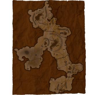 Campaign Map 1 Parchment