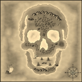 Skull Island Parchment