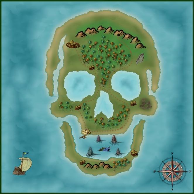 Skull Island Color
